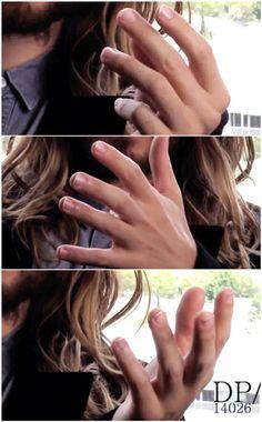 Beautiful hands, @jaredleto !!!