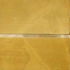 Placa de cera de abelha alveolada - DIY primeira viagem: Velas de cera abelha - Depósito Drops