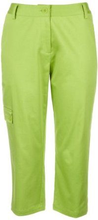 Palm Island Solid Cargo Pocket Capris LIME GREEN 8 Palm Island. $36.40