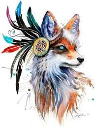 Image result for tumblr animals decals watercolor