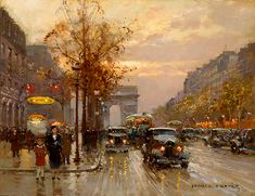 Edouard Leon Cortes metro George V Champs Elysees, Paris. Henri Matisse, Lagny Sur Marne, Georges Seurat, Winslow Homer, Impressionist Artists, Post Impressionism, Pierre Auguste Renoir, French Artists, Anime Comics