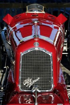Red Classic Car -- Curated by Quality Tires | 1939 Bredin Road, Kelowna, BC, Canada V1Y7S9 | (250) 448-0054