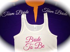 5 Bridesmaid Tank Tops. Jersey Knit Bridesmaid by WeddingApparel, $60.00