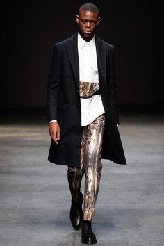 Casely-Hayford Fall 2014 Menswear Collection Slideshow on Style.com