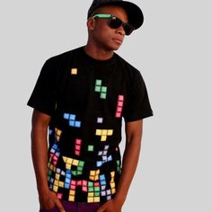 Tetris t-shirt design from technabob.com