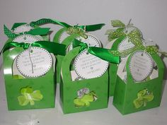 Here is a wee present for you  full of luck and wishes  Celebrate this St. Patricks Day  with these Leprechaun Kisses