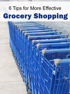 Use these grocery shopping tips to speed up the experience and save some cash!   5DollarDinners.com