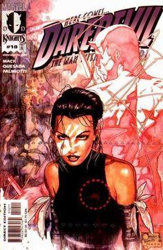The cover to Daredevil #10 (2000), art by Joe Quesada, Jimmy Palmiotti, & David Mack