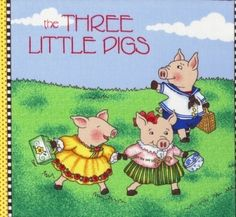 The Three Little Pigs Panel Book by Mary Breitling and Cranston VIP.