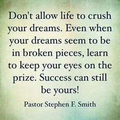 Life Lesson!