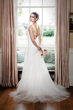 Sophia Stunning fishtail design with beaded lace and tulle.