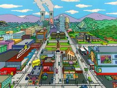Springfield (OR) ~ The Simpsons