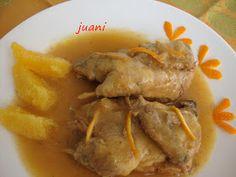 Partridges in orange peel sauce FC | Perdices en salsa de cáscara de naranja FC.  Las Cosillas Que Hago