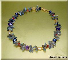 funkelnder Labradorittraum -  Unikat von Dream-Colliers auf DaWanda.com