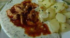 Morčacie mäso s kôprovou omáčkou Cauliflower, Vegetables, Food, Cooking, Cauliflowers, Essen, Vegetable Recipes, Meals, Cucumber