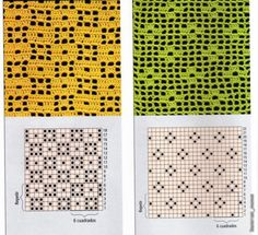 Fillet patterns are many. Discussion on LiveInternet - Russian Service Online Diaries Filet Crochet, Crochet Diagram, Crochet Chart, Thread Crochet, Crochet Motif, Crochet Doilies, Crochet Stitches Patterns, Crochet Designs, Stitch Patterns
