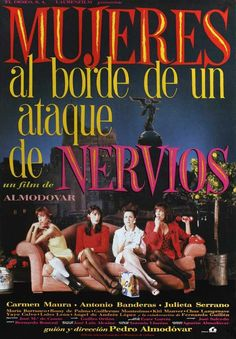 Women on the Verge of a Nervous Breakdown (Spanish) 27x40 Movie Poster (1988)