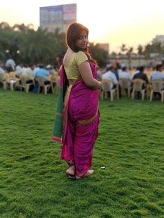 Kashta Saree, Sarees, Marathi Saree, Nauvari Saree, Indian Beauty Saree, Face Art, Backless, Classic, Photos