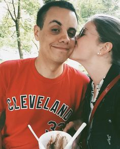 Oh I love him.  #mylove #bestfriend #fiance #icecream #icecreamdates #date #thatsdarling #adventure #explore #travel #love #kisses #michigan #cleveland by greenzeltra http://bit.ly/AdventureAustralia
