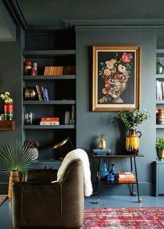 gruene-Wandfarbe-Tipps-Anna-von-Mangoldt-boho-interior-apartmenttherapy.com-www.decohome.de