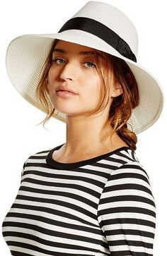 9e62026d736 This straw hat is a Summer must have. Hat Pins