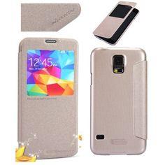 Nillkin Θήκη Smart Cover Preview - Χρυσό Sparkle (Samsung Galaxy S5 G900) - myThiki.gr - Θήκες Κινητών-Αξεσουάρ για Smartphones και Tablets - Χρυσό Sparkle Samsung Galaxy S5, Cases, Iphone, Gold, Yellow