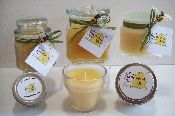 Beeswax Container Candles