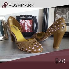 Faryl Robin Heels Size 8.5 Anthropologie Shoes Heels