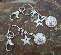 We've Got Your Volleyball Number Key Chain | Blue Laamb Designs