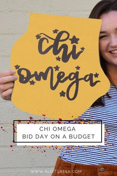 You don't have to break the bank to make bid day the most exciting and memorable day of the year. Follow these tips to make your Chi O Bid Day both amazing and affordable. #chiomega #chio #xo #bidday #biddayplanning #biddaygifts #sororitygifts