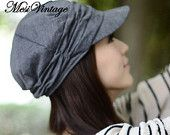 WORLDWIDE FREE SHIPPING, Spring and Winter Gorro Cap Lady's Fashion Drape Delicate Women Hats 3 Solid Color for Free Shipping