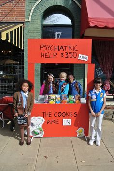 Too funny! #BlingYourBooth #GirlScoutCookies