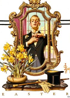 leyenhecker:  lush pretty boy  It's not Easter, but this is still one of my favorite pieces by Leyendecker. :)