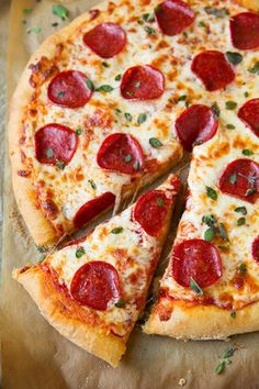 Pepperoni+Pizza+(Homemade+Dough+and+Pizza+Sauce+Recipes)