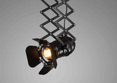 Mordern Nordic Retro Edison Pendant Lamp Hanging Light Fixtures Length adjustable Pendant Lights for Bedroom indoor luminaire Vintage Industrial Lighting, Modern Lighting, Hanging Light Fixtures, Hanging Lights, Pendant Track Lighting, Retro Ceiling Lights, Floating Lights, Lumiere Led, Light And Space