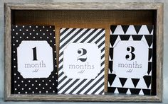 Free Baby Milestone Card Download