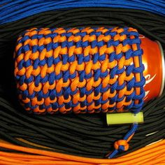 Multi-Color Paracord Can Koozie - need to find better instructions