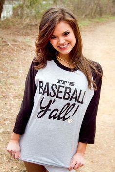 But football instead! Baseball Mom Shirts, Baseball Boys, Softball Mom, Sports Shirts, Cute Shirts, Baseball Stuff, Plaid Shirts, Baseball Outfits, Baseball Fashion