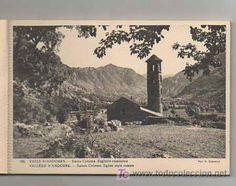 Postales: BOLCK CON 18 POSTALES. VALLS D'ANDORRA. (CLAVEROL). ANDORRA LA VELLA, ESCALDES, CANILLO, ORDINO... - Foto 3 Andorra, Vintage Postcards