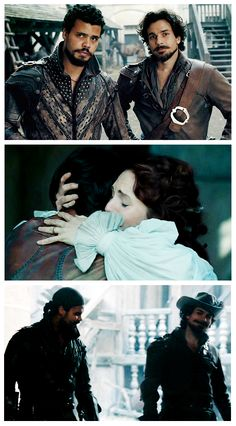 The Musketeers - 1x10 - Musketeers Don't Die Easily, Porthos & Aramis? Yeah they ship it. <3