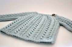 Ravelry: Project Gallery for Small Cable Sweater pattern by Vibe Ulrik Sondergaard
