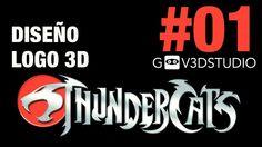 3ds Max 2012 Diseño Logo Thundercats Parte 01