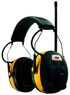 3M WorkTunes Hearing Protector, MP3 Compatible with AM/FM Tuner (90541-4DC), 2016 Amazon Top Rated Contractor Supply  #Home-Garden