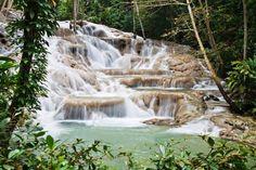 O C H O  R I O S   jamaica  duns river falls  2000 & 2001  celebrity cruise western caribbean