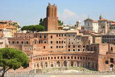 Mercado de Trajano, centro de la Roma Imperial #roma #viajar #italia