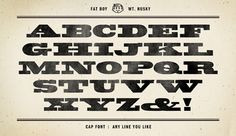 Fatboy Husky font