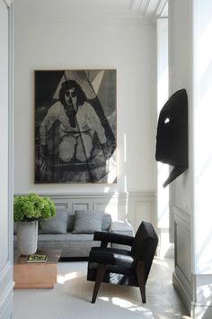 Modern French contemporary parisian Interiors 36