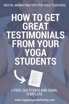 Here's my secret on getting your students to give you amazing reviews — without begging, pleading or being pushy and creepy. via @happyyogatravels