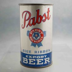 pabst BR 111-15 flat top beer can 1