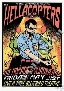 Hellacopters, The Nomads & Quadrajets